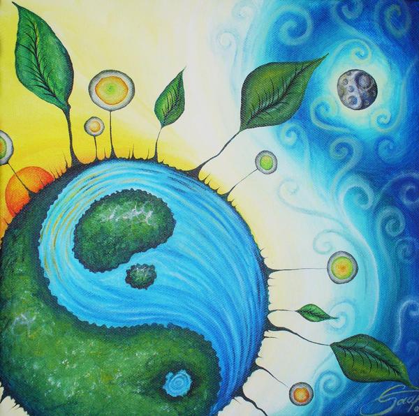 Wonderful yin yang by GruEliSm on DeviantArt ZR23