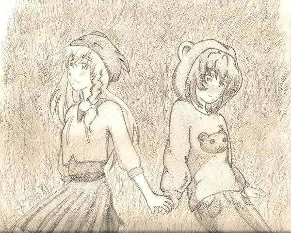 girls holding hands porn
