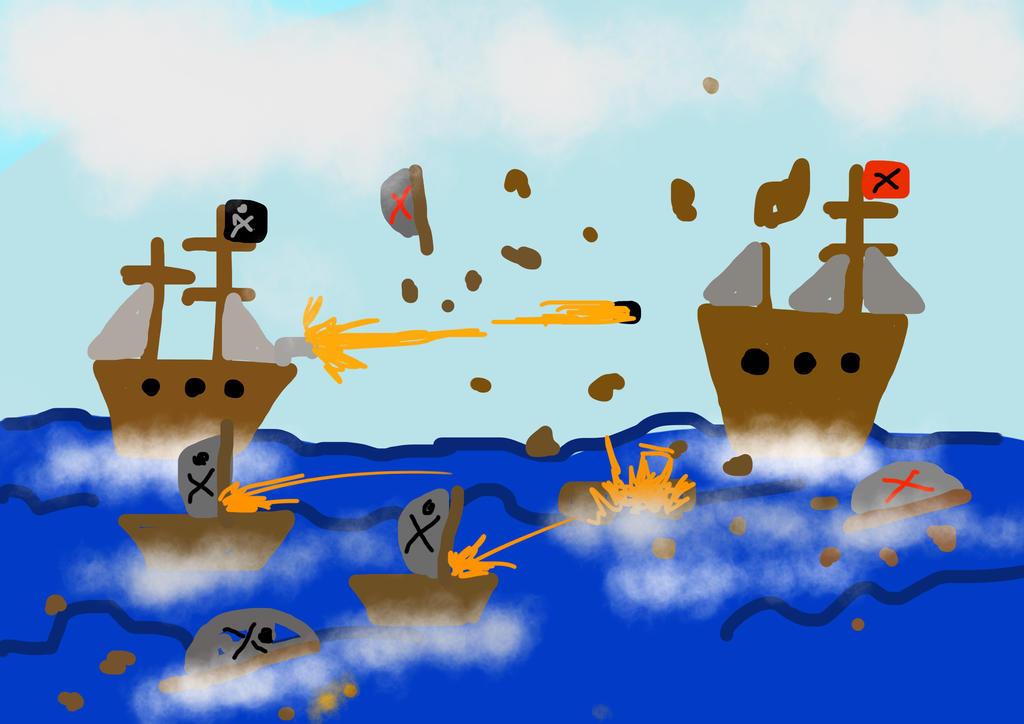 Sea battle by muravei