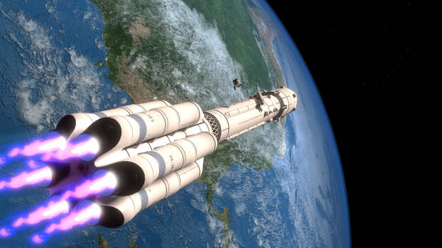 What if 'Protons' will be built right in orbit ...