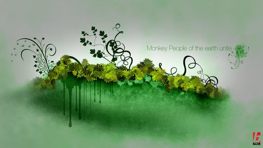 Monkey Earth by bazikg