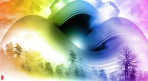 Swirl Rainbow