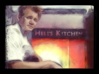 The diary of gordon Ramsey's Hell's Kitchen by Soulninja2