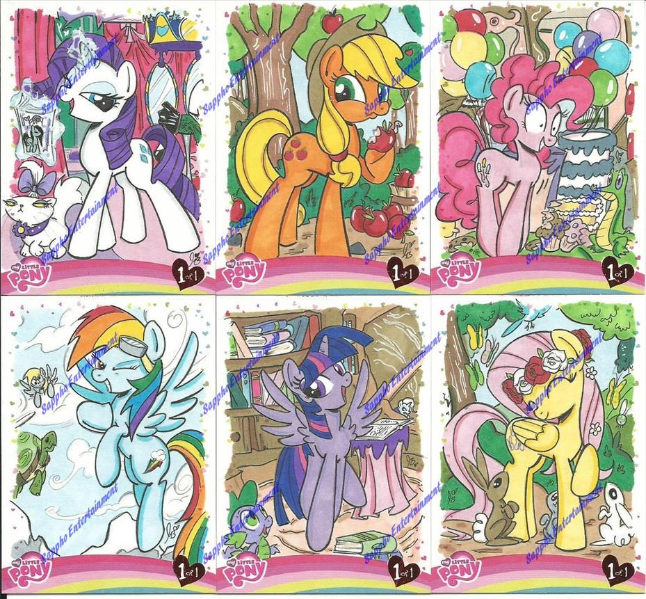 IDWLimitedMLPCards by PonyGoddess