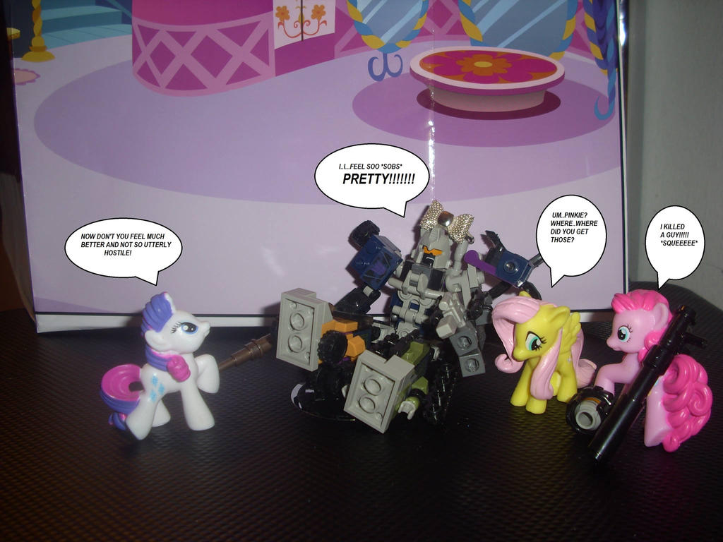 My Little Pony vs Kre-o Combiners part 2 by PonyGoddess