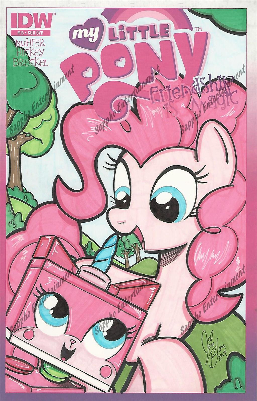Pinkie meet Unikitty the return by PonyGoddessUnikitty Sad Face