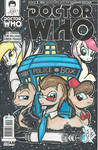 Dr Who(oves) Wizard World Chicago Sketch Cover