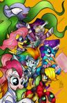Power Ponies Digital Colors