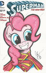 Pinkie Pie as Supermare