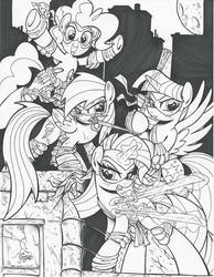 Teenage Mutant Ninja Ponies Commissions