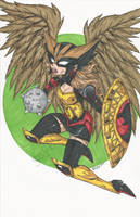 Hawkgirl print