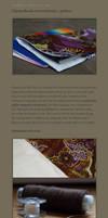 Chequebook cover tutorial - AU