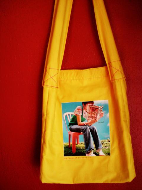 Bookbag: Design by 'poop-art' by moonstrucknights