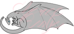 Dragon Template (commissioned by J. Ellinger) by VenusRain