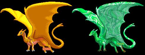 Pernese Dragon YCH: Iceheart by VenusRain