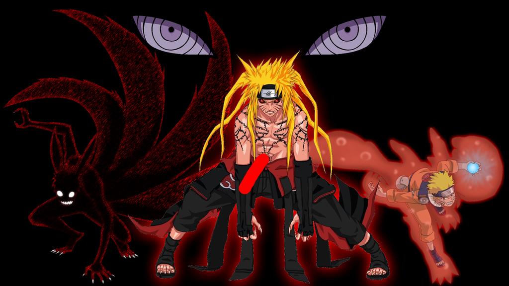 Naruto Kyuubi Chakra Wallpaper By DragonballKC