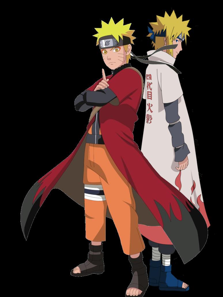 Naruto And Minato Namikaze by DragonballKC on DeviantArt