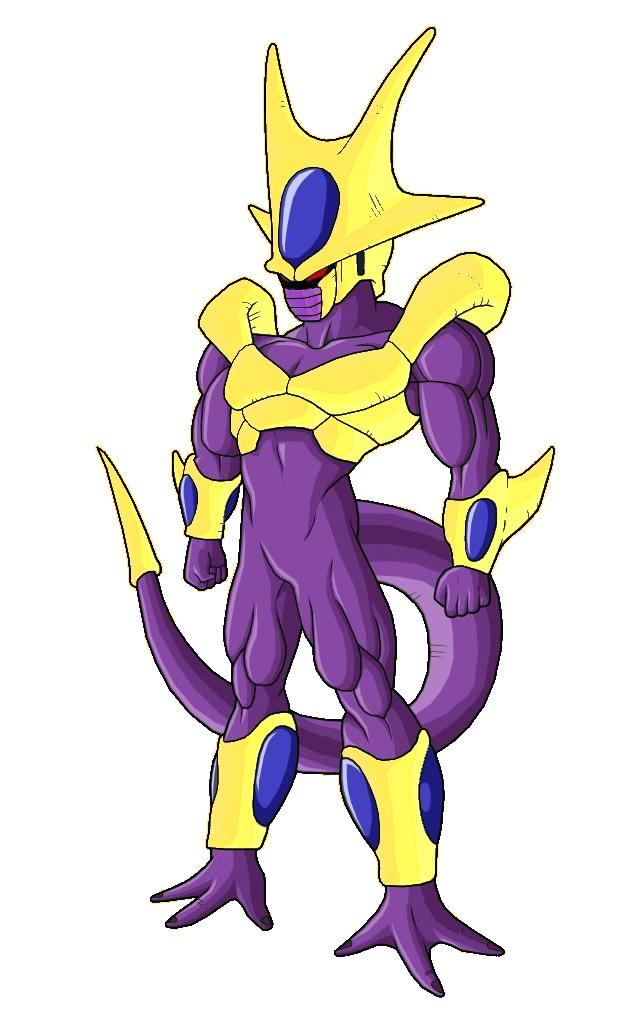 Gold Cooler 5th form by DragonballKC on DeviantArt