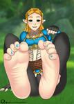 Princess Zelda - BOTW