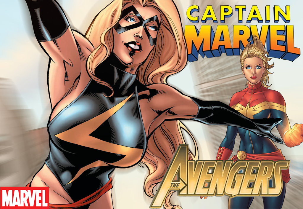 captain marvel y ms marvel