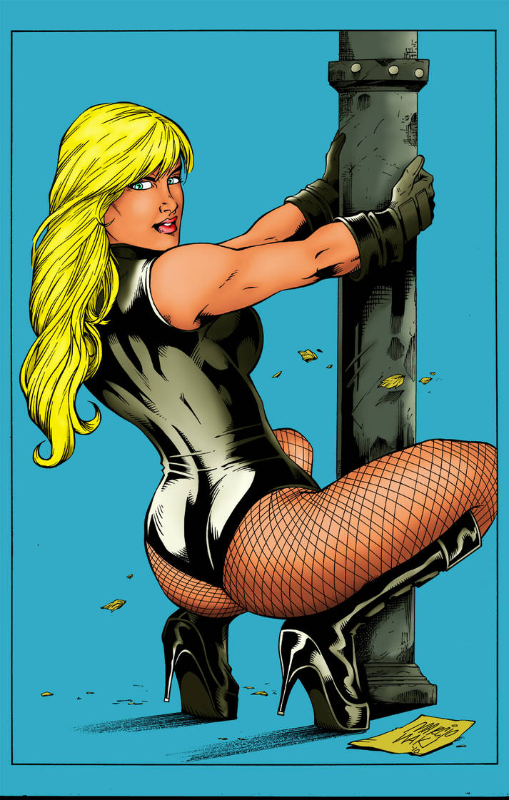 Black Canary by bobhertley