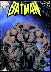 Batman Comic book Cover by bobhertley