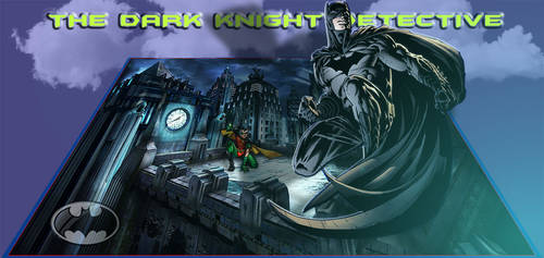 Batman The Dark Knight by bobhertley