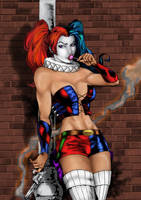 Harley Quinn by Hique by Ed-Benes-Studio by bobhertley