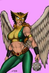 Hawkgirl by bobhertley
