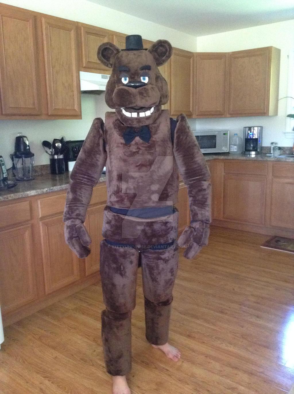 Freddy fazbear costume by kittyuniverse on deviantart