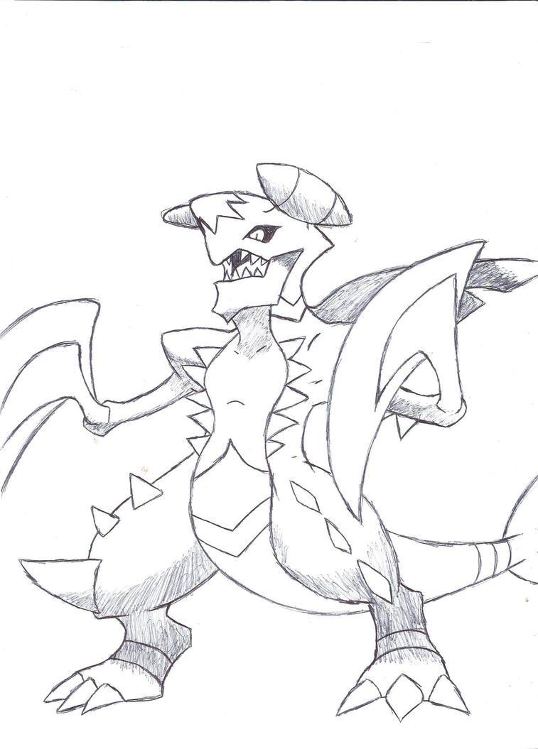 mega garchomp by deviantbuu427 on DeviantArt