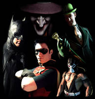 Batman and Robin: Villains by TimDrakeRobin