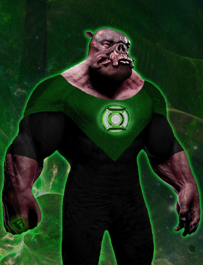 Green Lantern Movie Kilowog by TimDrakeRobin