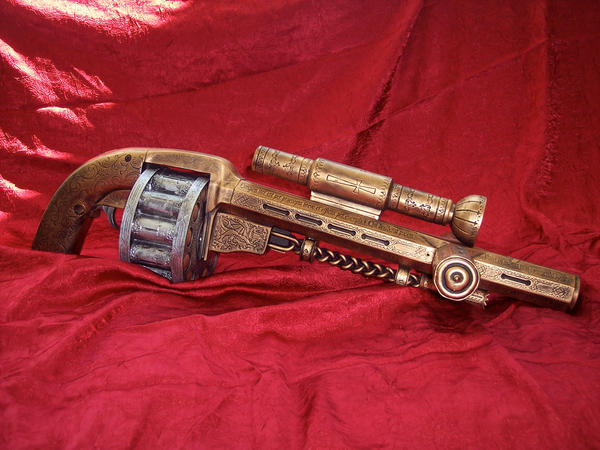 Constantine Holy Shotgun by TimDrakeRobin