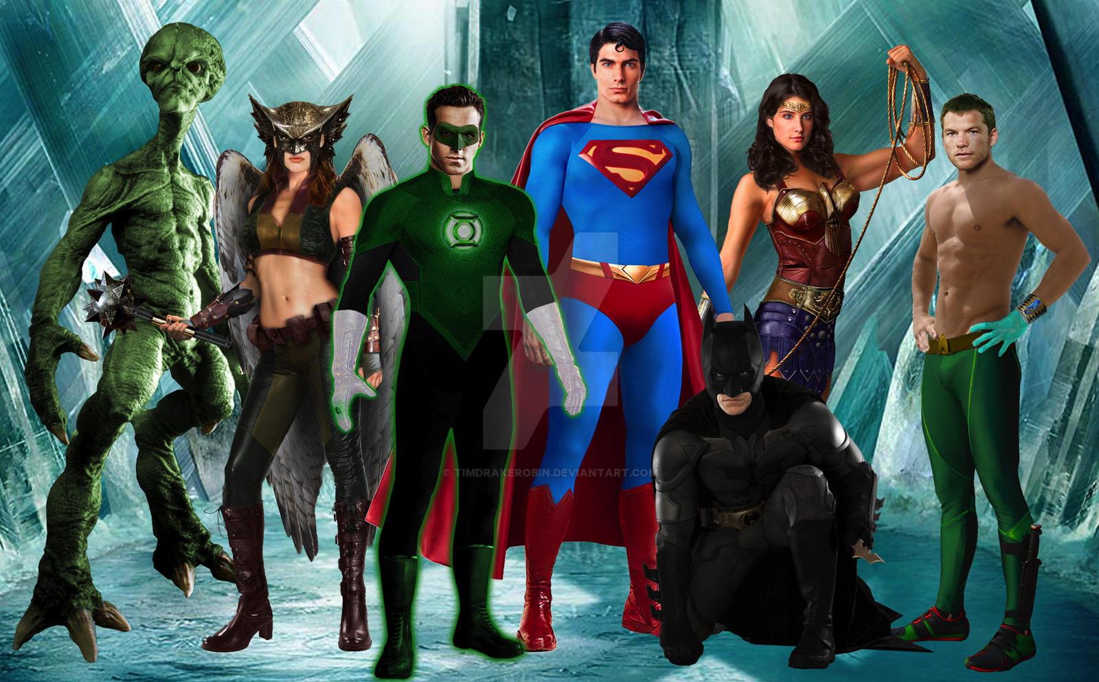 Justice League Movie Manip WIP
