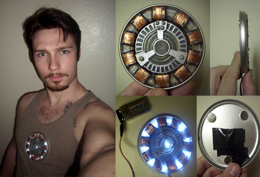 Ironman Arc Reactor Chest RT By TimDrakeRobin ...