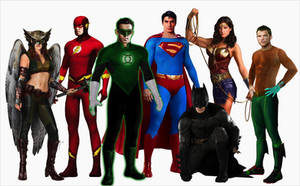 Updated Justice League Manip by TimDrakeRobin