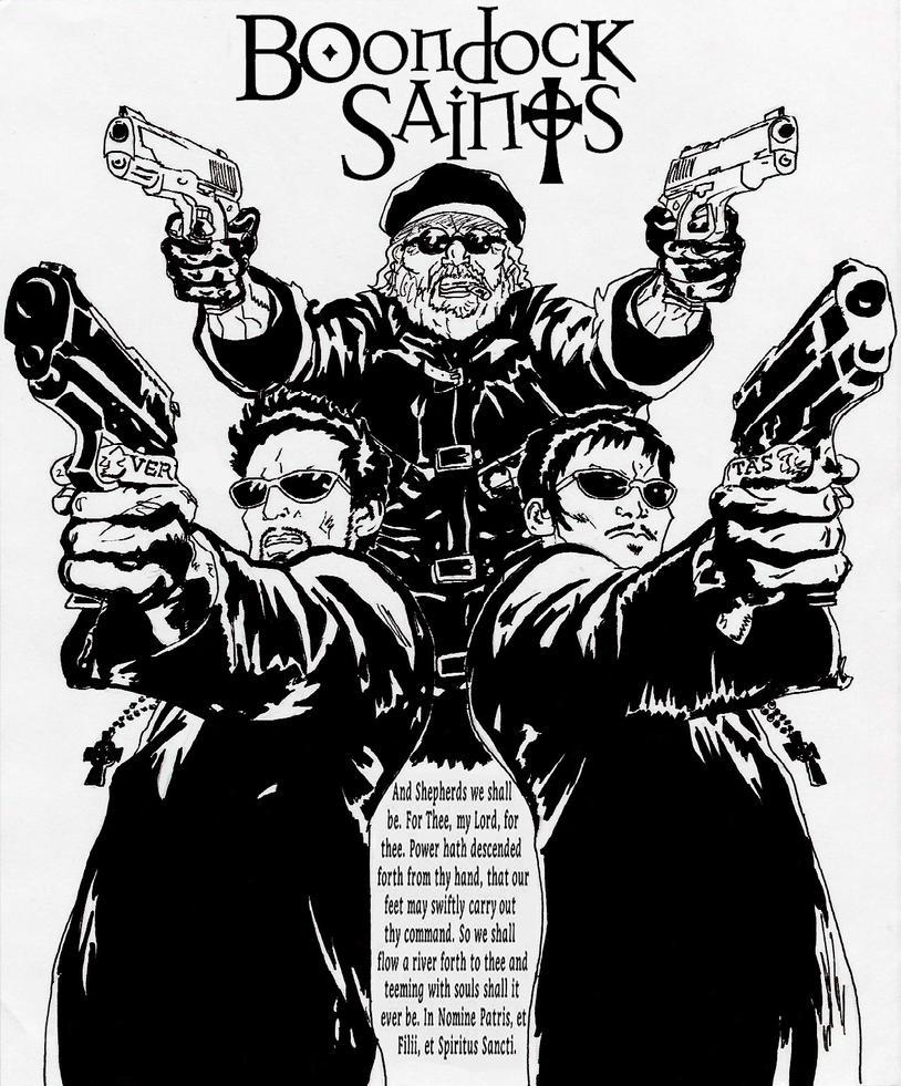 The boondock saints fan art by timdrakerobin on deviantart - Boondock saints cartoon ...