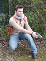 Nathan Drake: Uncharted by TimDrakeRobin
