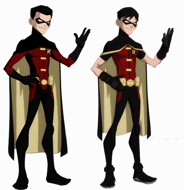 robin young justice invasion by timdrakerobin on deviantart