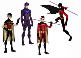 Young Justice Invasion: Robin's future? by TimDrakeRobin