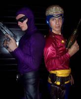 The Phantom and Flash Gordon by TimDrakeRobin