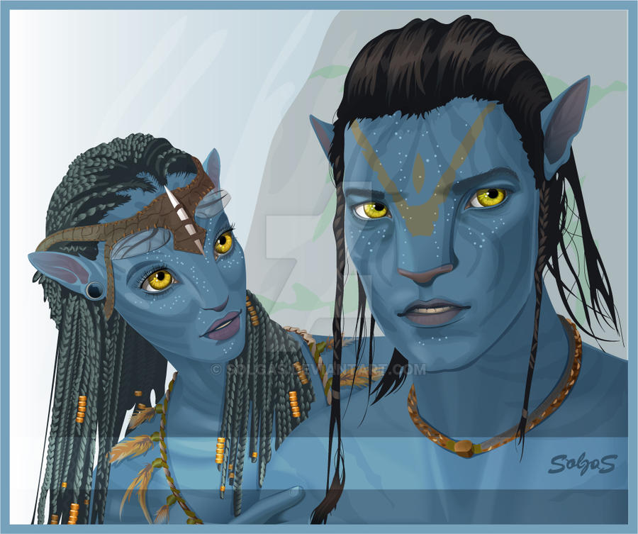 Avatar Jake: Neytiri, Jake Sully By Solgas On DeviantArt