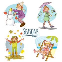 Seasons by solgas
