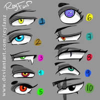 (F2U)  Eyes Different Style by ReyFanz