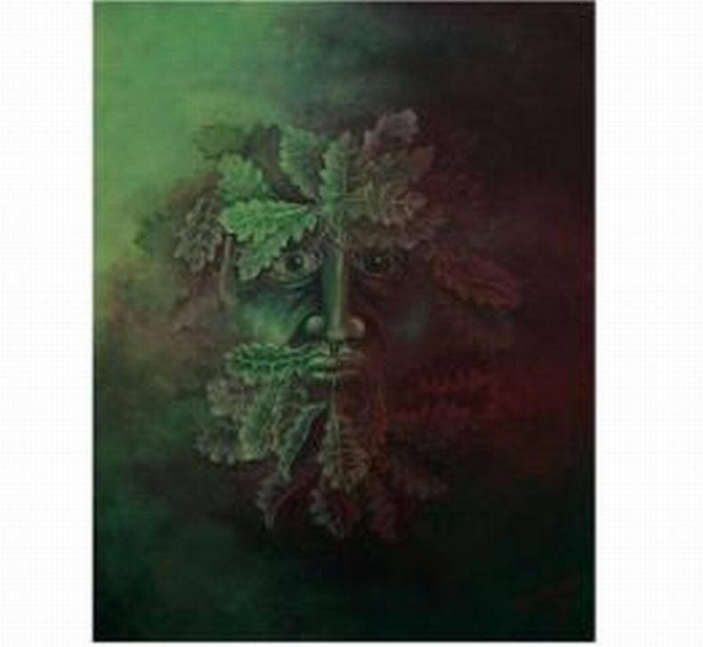 Green Man by Finnegas
