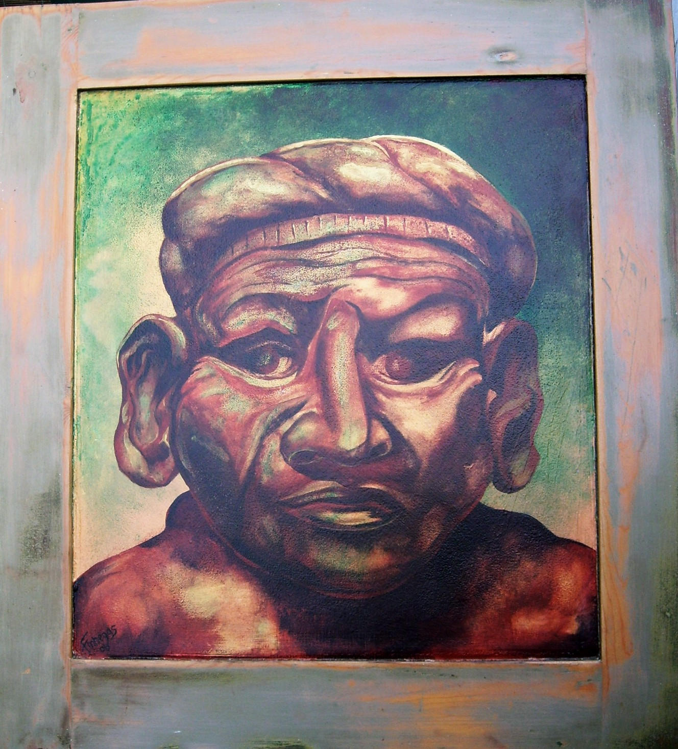 Mocha Statue. by Finnegas