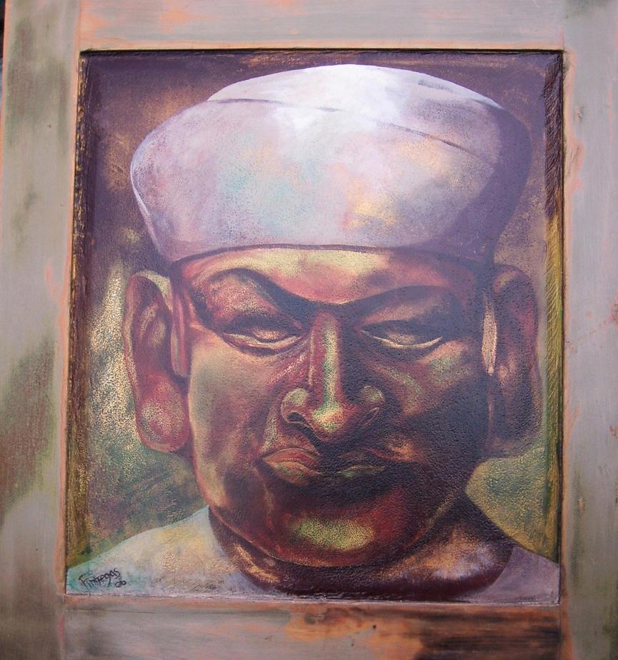 Mocha statue 2. by Finnegas