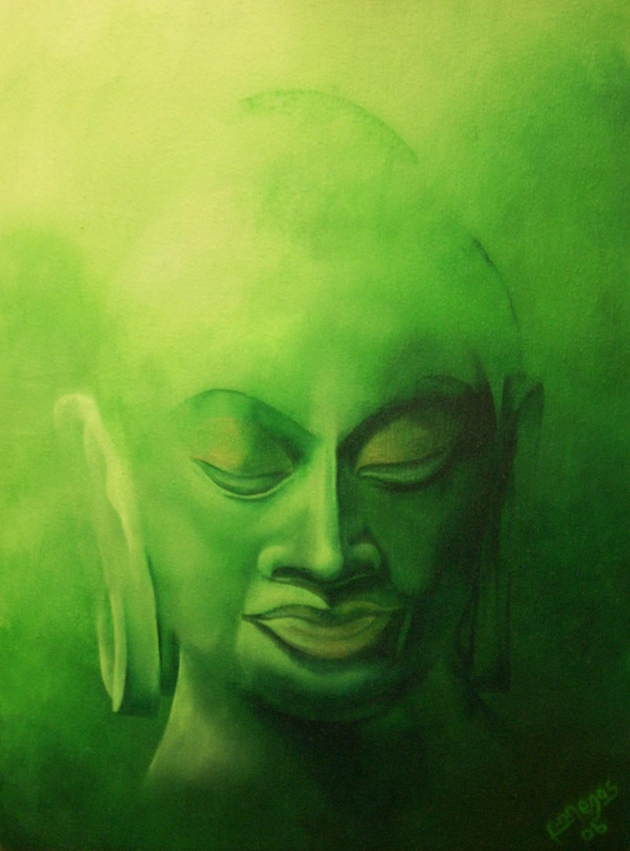 the green buddha. by Finnegas