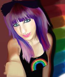 over the rainbow by kamezis
